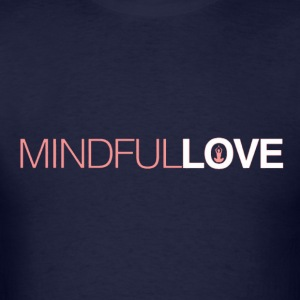 mindfull love Long Sleeve Shirts - Men's T-Shirt