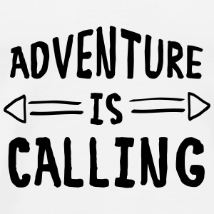 Adventure Is Calling Tanks - Men's Premium T-Shirt