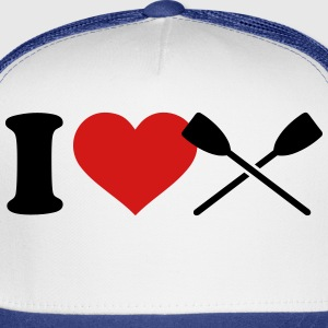 I love Rowing Kids' Shirts - Trucker Cap