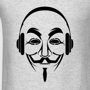 anonymous dj - Men's T-Shirt