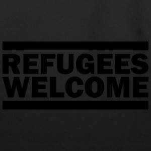 refugees welcome T-Shirts - Eco-Friendly Cotton Tote