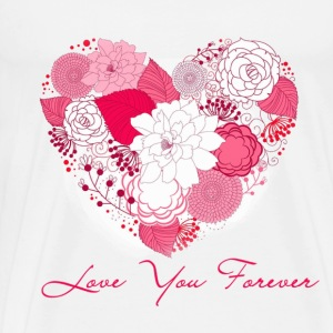 love you forever Long Sleeve Shirts - Men's Premium T-Shirt