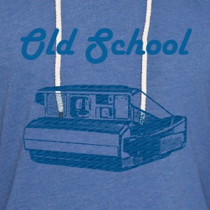 Old school camera T-Shirts - Unisex Lightweight Terry Hoodie