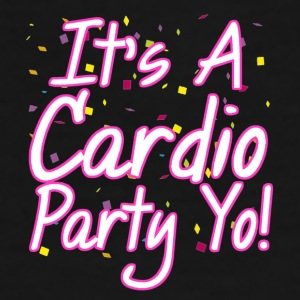 It's a Cardio Party - Pink  Mugs & Drinkware - Men's Premium T-Shirt