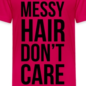 Messy Hair Kids' Shirts - Toddler Premium T-Shirt