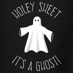 Holey Sheet It's A Ghost Hoodies - Men's T-Shirt