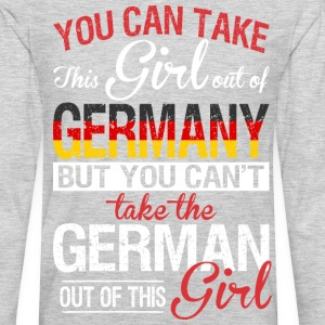 You Can Take The Girl Out Of Germany - Men's Premium Long Sleeve T-Shirt