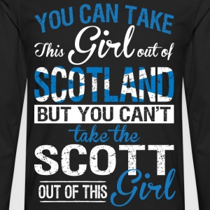 You Can Take The Girl Out Of Scotland - Men's Premium Long Sleeve T-Shirt
