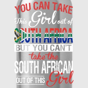 You Can Take The Girl Out Of South Africa - Water Bottle