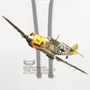 FIGHTER PLANES 5 - FIGHTER AIRCRAFT 5 - Contrast Hoodie