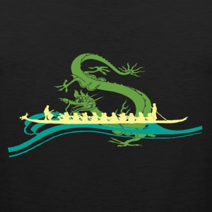 Dragon boat Yellow T-Shirts - Men's Premium Tank