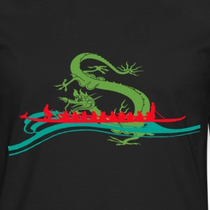 Dragonboat Red T-Shirts - Men's Premium Long Sleeve T-Shirt