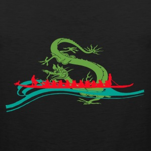 Dragonboat Red T-Shirts - Men's Premium Tank