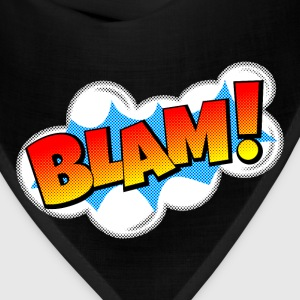 BLAM! Comic Book Explosion Bags & backpacks - Bandana