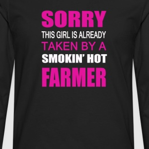 Taken By A Farmer - Men's Premium Long Sleeve T-Shirt