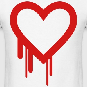 BLEEDING HEART Hoodies - Men's T-Shirt