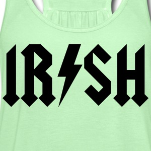 irish - acdc - Women's Flowy Tank Top by Bella