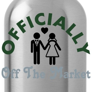 Married Officially Off The Market T-Shirts - Water Bottle