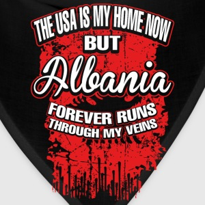 The USA Is My Home Now But Albania Forever - Bandana