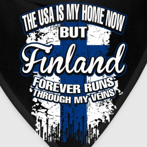 The USA Is My Home Now But Finland Forever Runs - Bandana