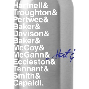 DOCTOR WHO THE DOCTORS' NAMES - Water Bottle