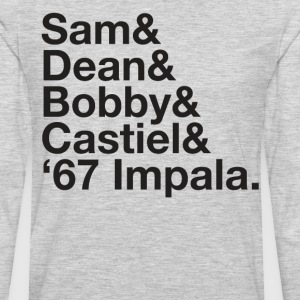 SUPERNATURAL Dean and Sam WINCHESTER Castiel Bobby - Men's Premium Long Sleeve T-Shirt