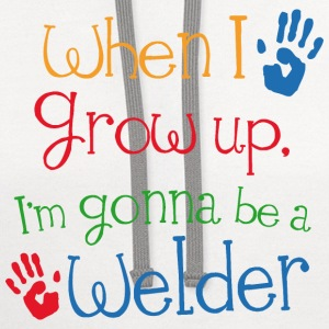 Future Welder Baby & Toddler Shirts - Contrast Hoodie