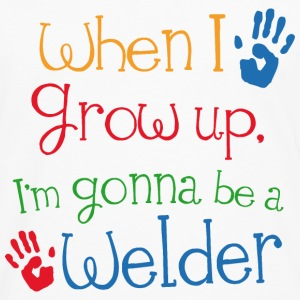 Future Welder Baby & Toddler Shirts - Men's Premium Long Sleeve T-Shirt