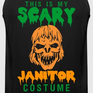 This Is My Scary Janitor Costume - Men's Premium Tank