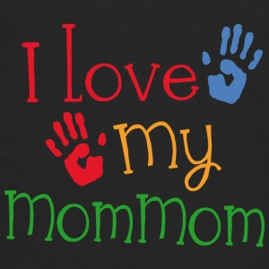 I Love My MomMom Baby & Toddler Shirts - Men's Premium Long Sleeve T-Shirt