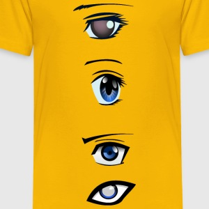 manga eyes - Toddler Premium T-Shirt