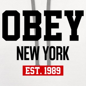 Obey New York - Contrast Hoodie