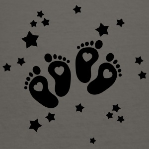 twins feet stars Tanks - Women's V-Neck T-Shirt