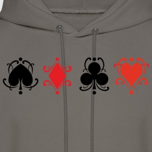 Playing Cards - Men's Hoodie