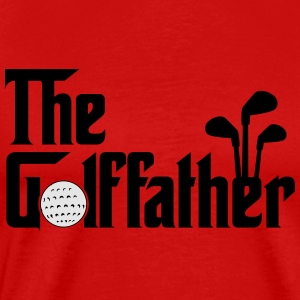 The Golffather - Golf Tank Tops - Men's Premium T-Shirt
