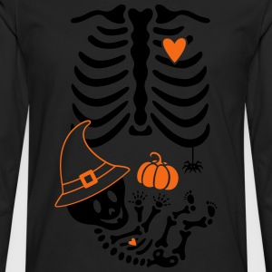 Witch Maternity Skeleton Women's T-Shirts - Men's Premium Long Sleeve T-Shirt