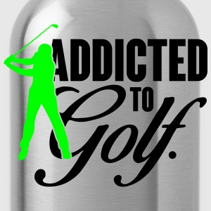 Addicted to Golf T-Shirts - Water Bottle