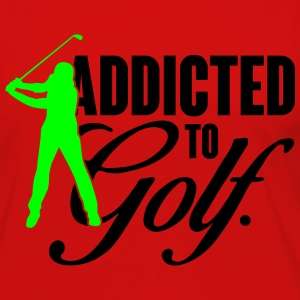 Addicted to Golf T-Shirts - Women's Premium Long Sleeve T-Shirt