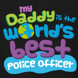 Best Police Officer Dad Baby & Toddler Shirts - Men's T-Shirt