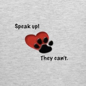 speak up they can't Long Sleeve Shirts - Men's Premium Tank