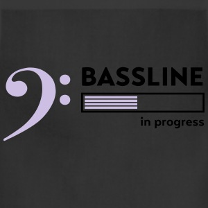 Bassline in progress T-Shirts - Adjustable Apron