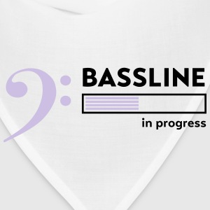 Bassline in progress T-Shirts - Bandana