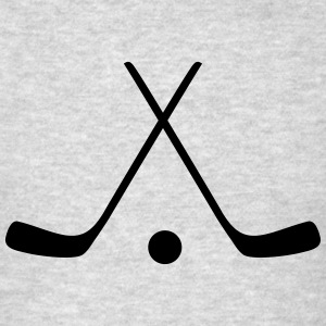 Hockey sticks Long Sleeve Shirts - Men's T-Shirt