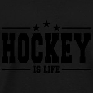 Hockey is life 1 Tanks - Men's Premium T-Shirt