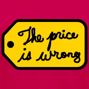 The Price is Wrong - Women's Premium Long Sleeve T-Shirt