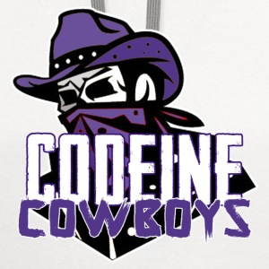 codeine cowboys T-Shirts - Contrast Hoodie