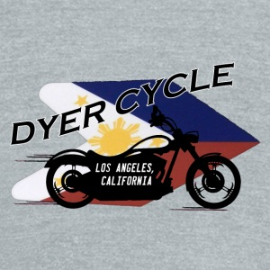 Dyer Cycle Filipino Flag - Unisex Tri-Blend T-Shirt by American Apparel