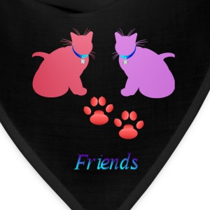 Soft Kitties Friebds - Bandana