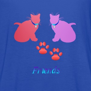 Soft Kitties Friebds - Women's Flowy Tank Top by Bella