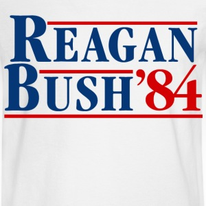 Bush Reagan 84 Election - Men's Long Sleeve T-Shirt